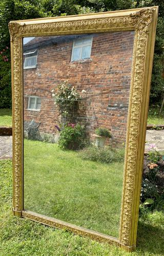 Early 19th Century Large Gilt Mirror (1 of 10)