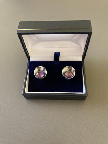 Danish Silver Earrings by Niels Erik From (1 of 4)