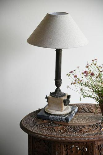 Classical Style Marble Table Lamp (1 of 12)