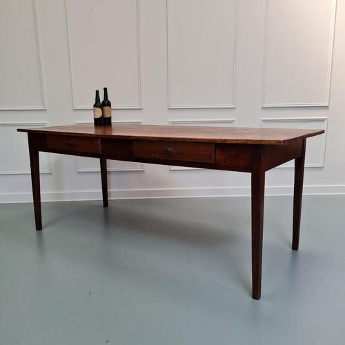 Large Antique French Farmhouse Table (1 of 6)