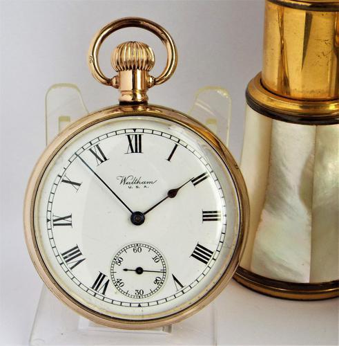 Waltham Pocket Watch, 1927 (1 of 5)