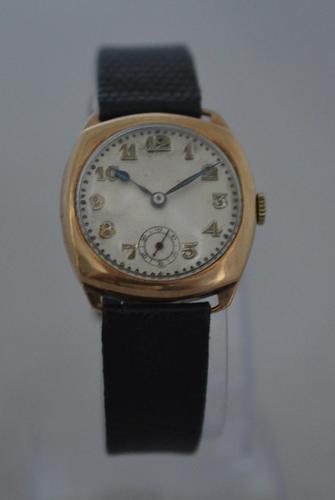 1929 Rotary 9k Gold Wristwatch (1 of 5)