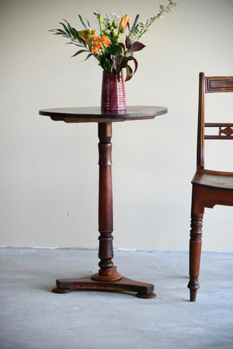 Antique Mahogany Side Table (1 of 10)
