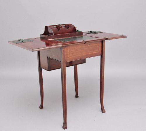 Early 20th Century Mahogany Metamorphic Writing Table (1 of 16)