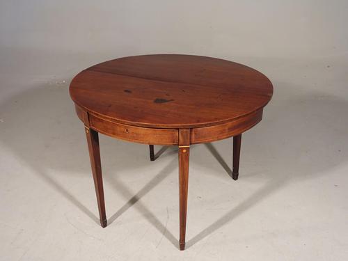 George III Period Mahogany Tea Table (1 of 5)
