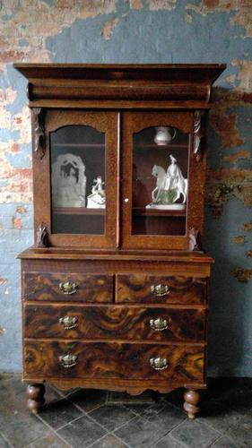 Scottish Scumbled Pine Grained Kitchen Crofters Cabinet (1 of 5)