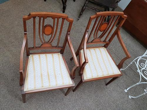 Edwardian Pair of Chairs (1 of 6)