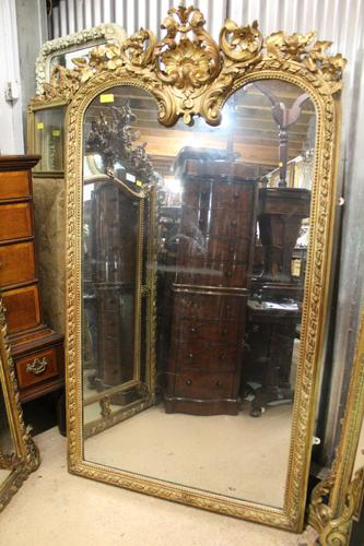 Antique Gilt Mirror (1 of 4)