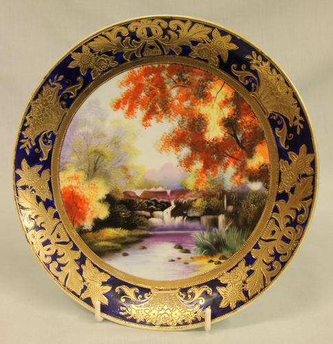 Wonderful Noritake Cabinet Plate (1 of 7)
