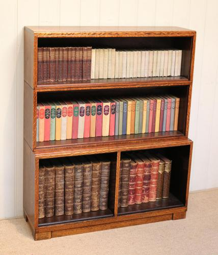Minty Art Deco Open Bookcase (1 of 10)