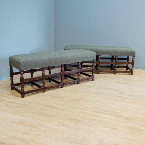 Pair of Oak Benches (1 of 7)