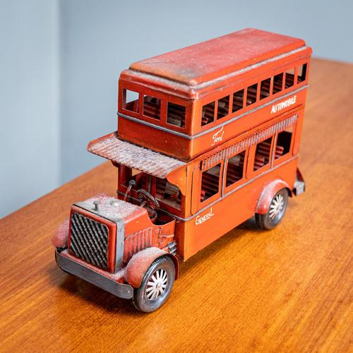 Retro Double Decker Bus (1 of 6)