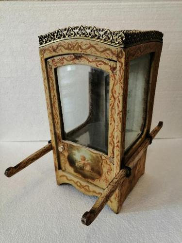 French Vernis Martin Novelty Bijouterie Cabinet (1 of 17)