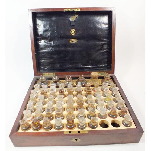 19th Century Mahogany Homeopathic Medicine Chest by John Mawson (1 of 4)