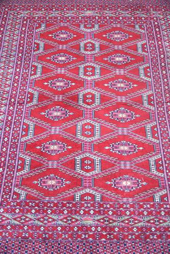 Eastern Red Wool Rug (1 of 11)