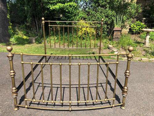 Brass King Size Bed Frame (1 of 7)