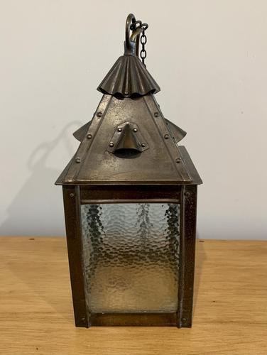 Arts and Crafts Hall Lantern (1 of 9)