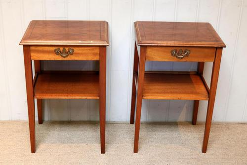 Pair of Yew Tables (1 of 10)