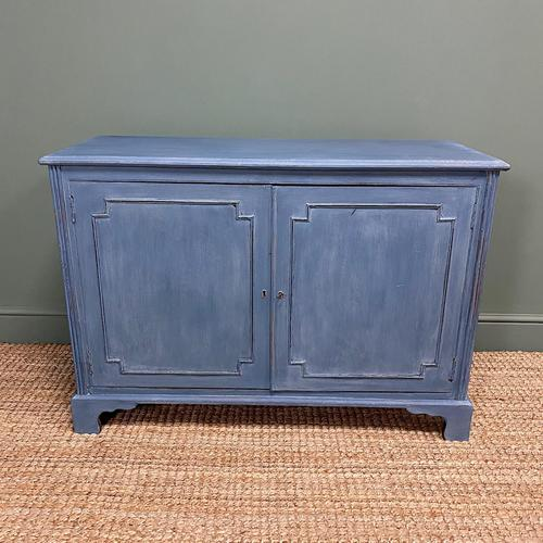 Victorian Country House Painted Antique Cupboard (1 of 7)