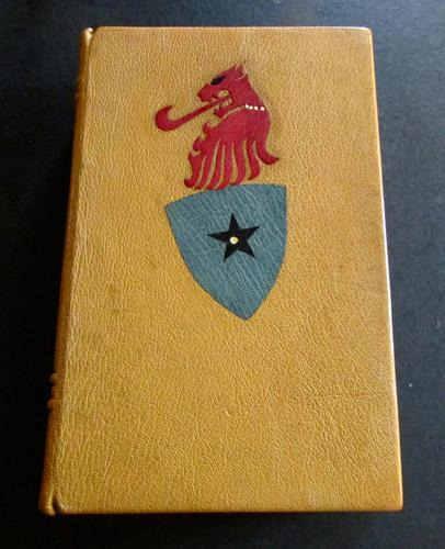 1900 The Travels of Sir John Mandeville,  Rare One Off Custom Leather Binding (1 of 4)