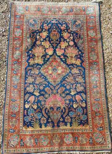 Fine Antique Karshan Prayer Rug (1 of 10)