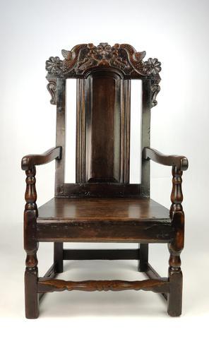 An Unusual 17th Century English Armchair (1 of 8)