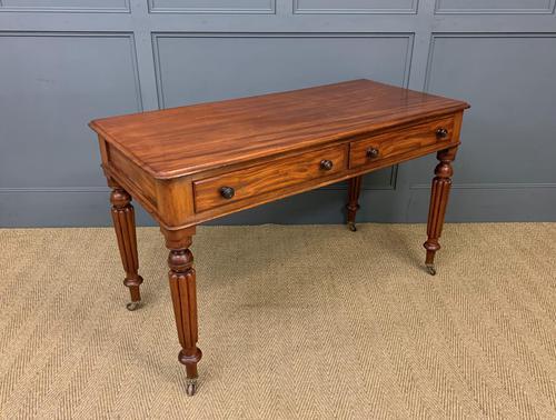 Victorian Mahogany Side Table (1 of 15)