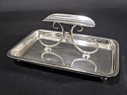 Early 20th Century Silver Cigar Holder (1 of 5)