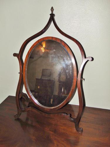 Mahogany Mahogany Framed Dressing Mirror (1 of 6)