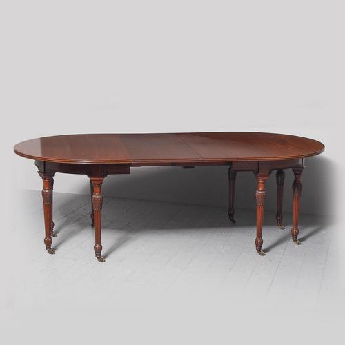 Victorian Mahogany Dining Table with 2 Leaves (1 of 6)