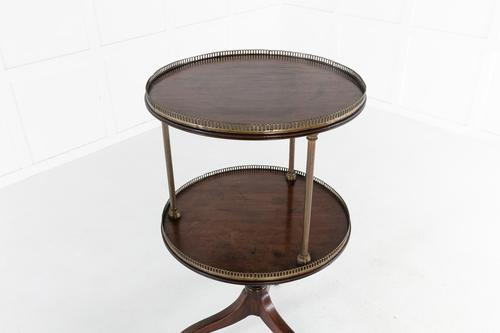 19th Century English Two Tier Dumbwaiter (1 of 7)