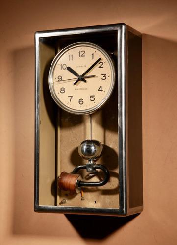 Art Deco Lepaute Very Interesting Electrical Wall Clock (1 of 14)