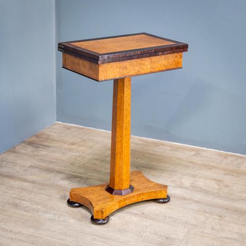 Bird's Eye Maple Folding Table (1 of 12)