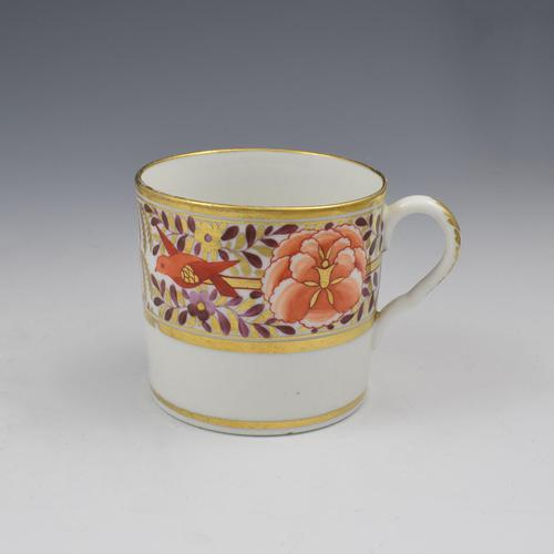 Coalport Porcelain John Rose Coffee Can Red Birds Willow & Peony (1 of 6)