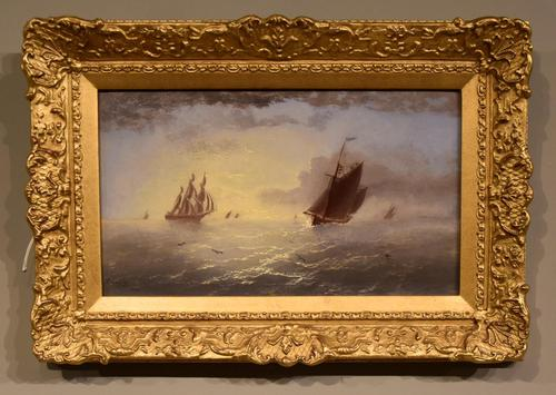 """Oil Painting by Thomas Lucop """"Early Evening"""" (1 of 4)"""