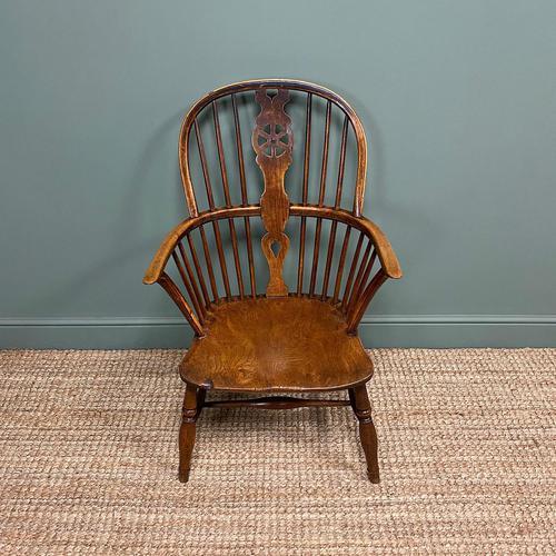 Georgian Wheel Back Antique Windsor Chair (1 of 6)