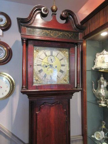 George III Period Winstanley of Wigan 8 Day Longcase Clock (1 of 9)