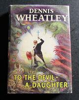 1953 1st Edition - To The Devil A Daughter by Dennis Wheatley with Original Dust Jacket (1 of 4)
