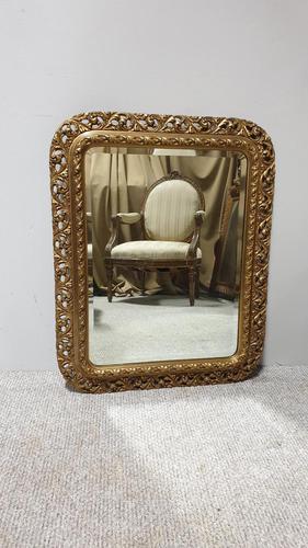 French Pierced Wall Mirror (1 of 4)
