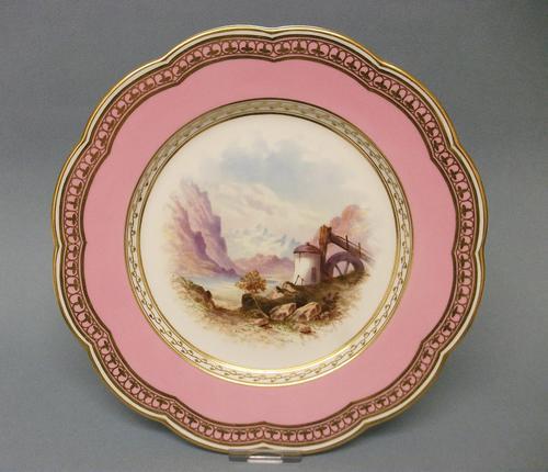 Superb Davenport Cabinet Plate c.1870 (1 of 7)