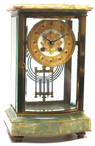Incredible French 4 Glass French Regulator 8-day Mantle Clock (1 of 12)