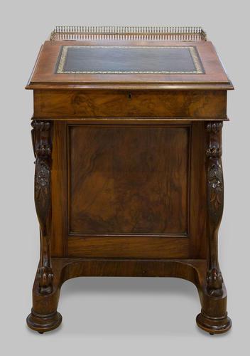 A Walnut Davenport Desk (1 of 5)