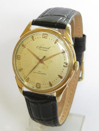 Gents 1960s Accurist Wrist Watch (1 of 4)