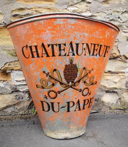 Vintage French Grape Hod Chateauneuf Du Pape (1 of 8)