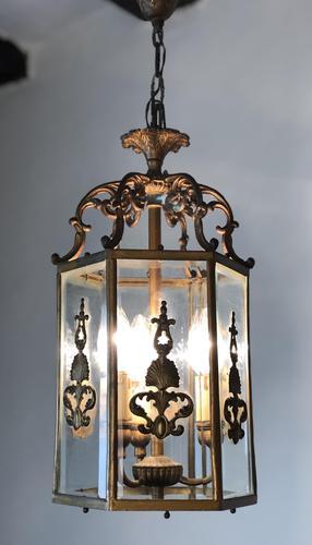 Antique French Gilt Bronze Lantern (1 of 13)