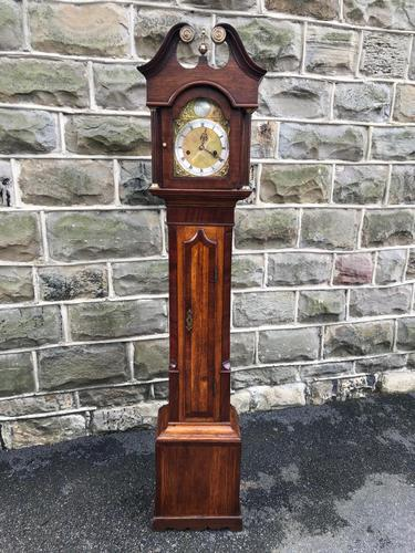 Early Antique Weight Driven Granddaughter Clock (1 of 13)