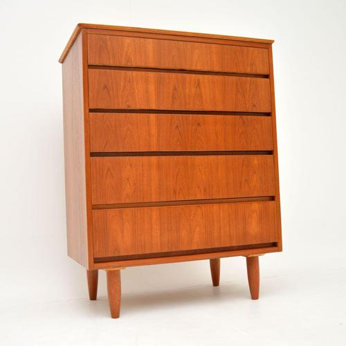 1960's Teak Vintage Chest of Drawers (1 of 10)