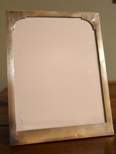 Art Deco Silver Frame Birmingham 1928 (1 of 3)
