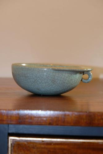 Chinese Junyao Brush Washer Pot with Crackle Glaze (1 of 6)