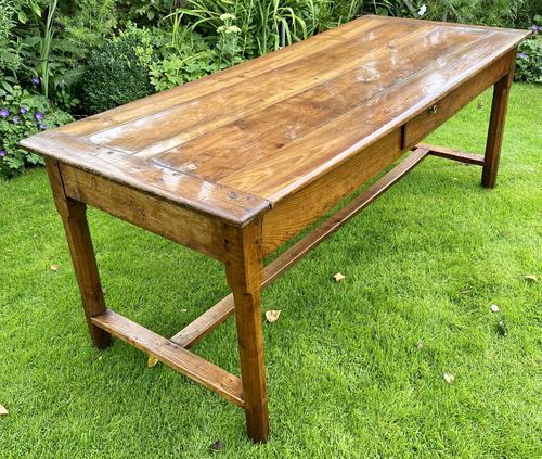 18th Century Cherrywood Farmhouse Table (1 of 9)